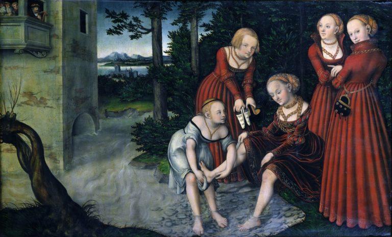 Давид и Вирсавия (ок.1537)