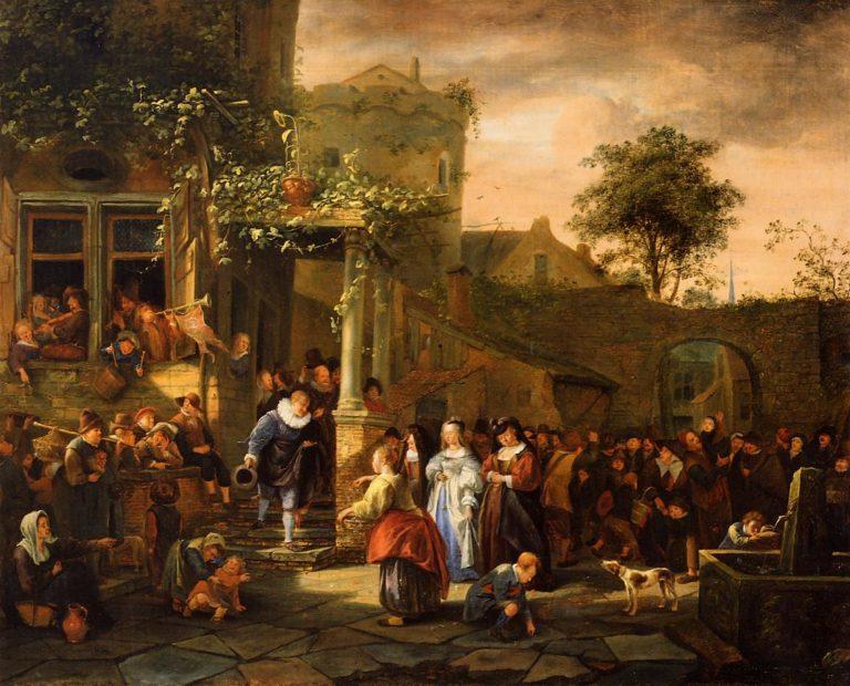 «Деревенская свадьба» (1653)