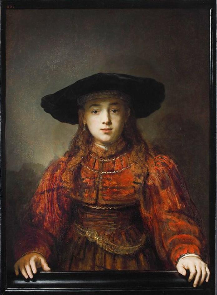 «Девушка в раме»/«Еврейская невеста» (1641)