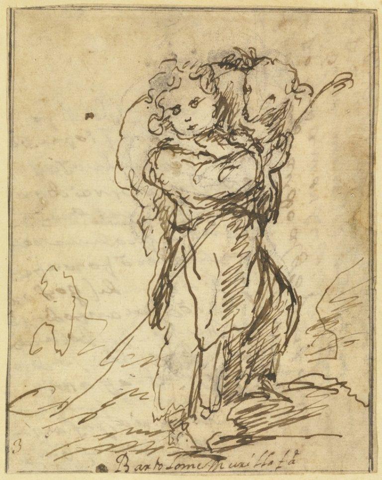 Дитя Христос – Добрый Пастырь. 1675-1680