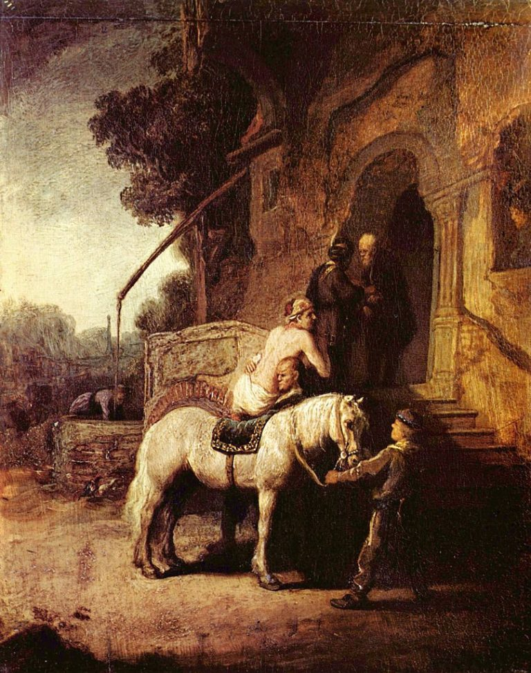 Добрый самарянин. После 1633