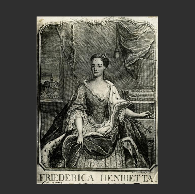 Фредерика Генриетта (нем. Friederica Henrietta; 1702 - 1723)