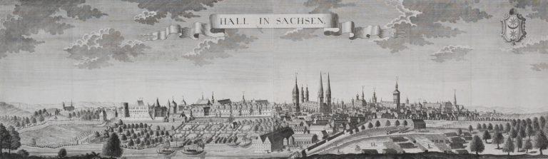 Галле в 1740 г.