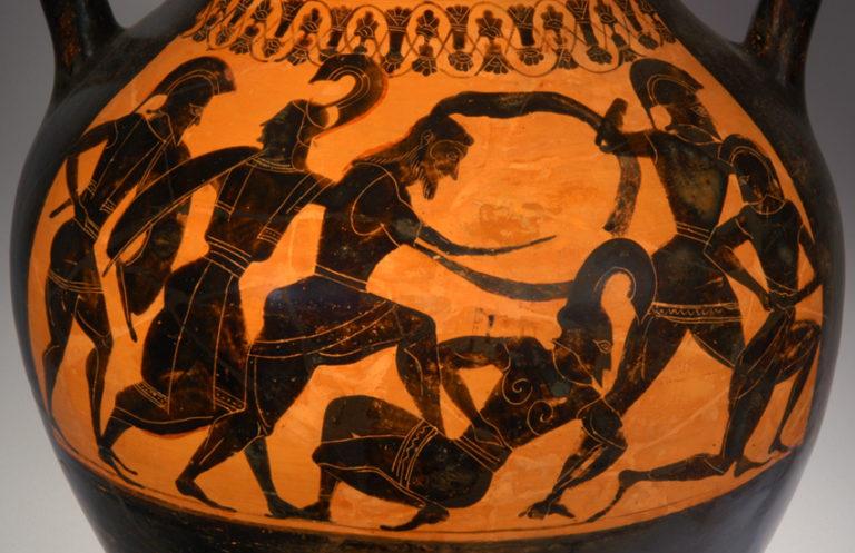 «Гигантомахия» (ок. 540 г. до н.э.)