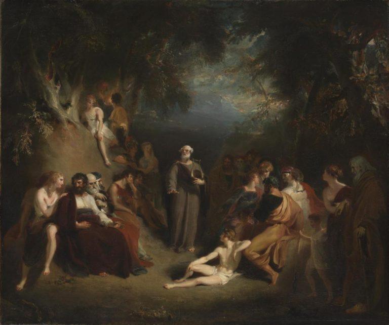«Гомер читает свои поэмы» (1790)