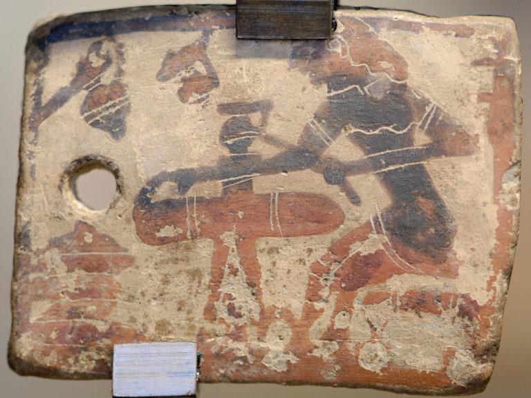 Гончарная мастерская. 625-600 гг. до н.э.