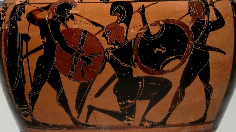 Греческие воины (ок. 560–550 гг. до н.э.)