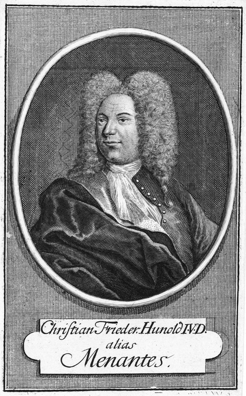 Христиан Фридрих Хунольд, также известный как Менантес