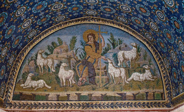 Христос – Добрый Пастырь.