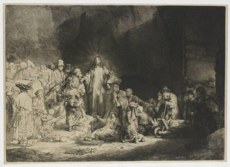 «Христос, исцеляющий больных» (1643—1649)