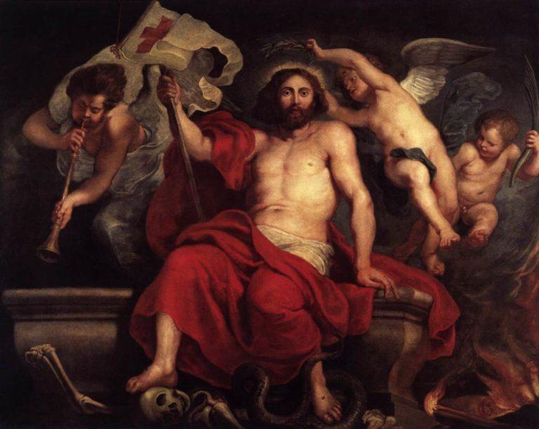 «Христос торжествует над смертью и грехом» (1615-1622)