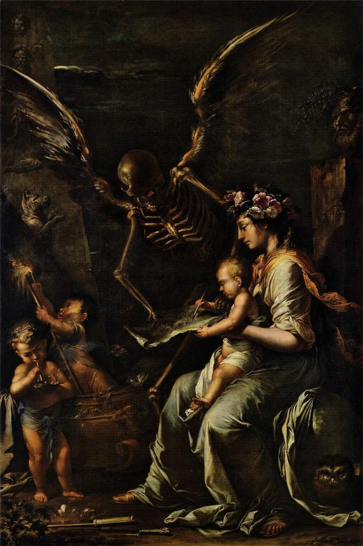 «Хрупкость человека» (ок. 1656)