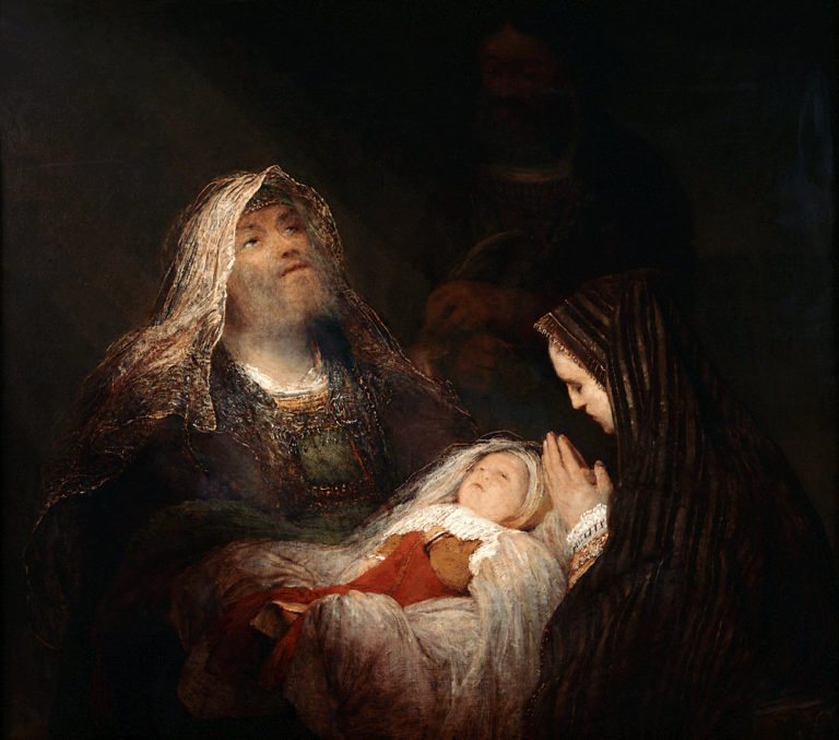 «Хвалебная песнь Симеона» (Het loflied van Simeon)/«Ныне отпущаеши» (ок. 1700–1710)