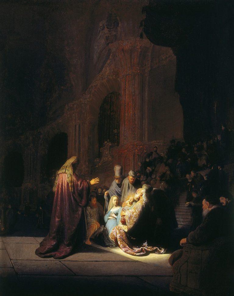 «Хвалебная песнь Симеона» (Simeon's Song of Praise)/«Ныне отпущаеши»
