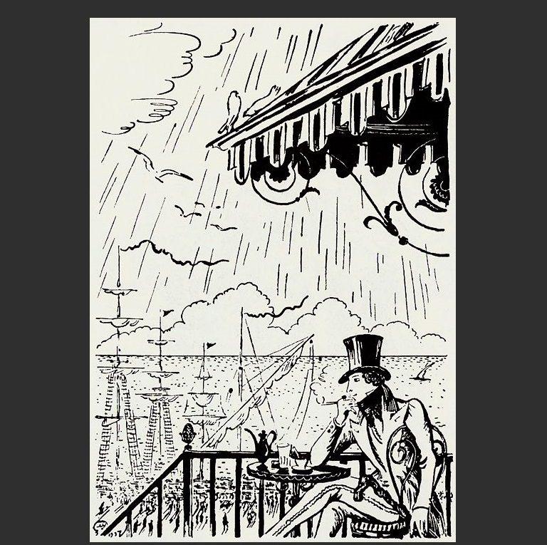 Иллюстрация к роману А.С. Пушкина «Евгений Онегин». 1931-1936