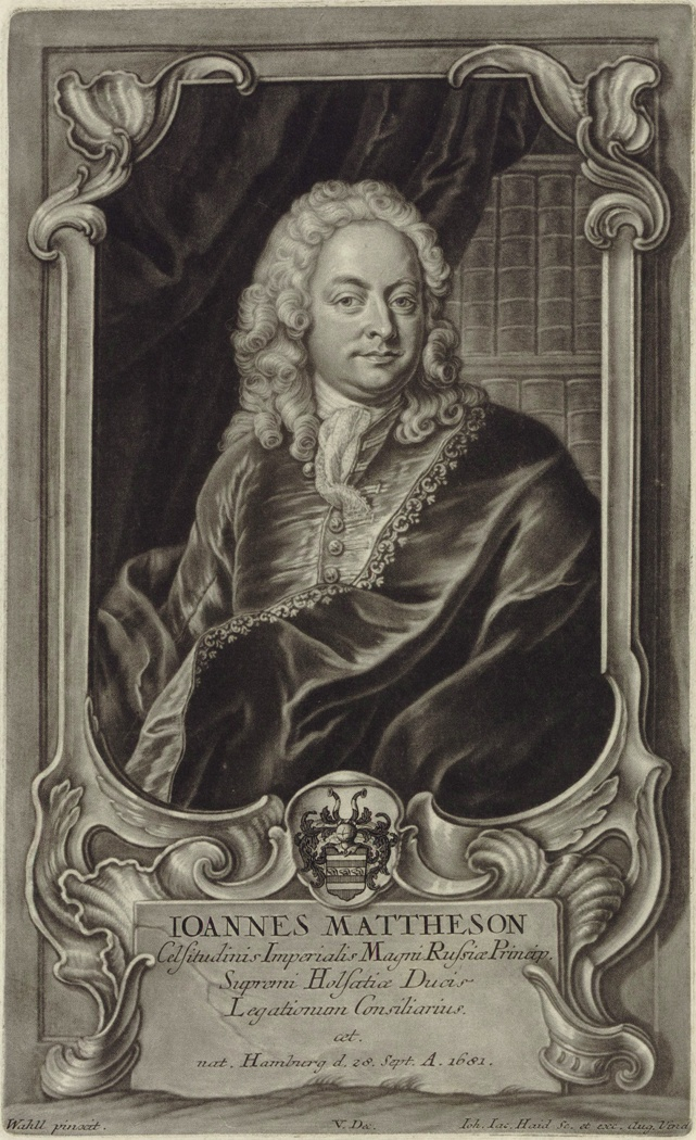 Иоганн Маттезон (1681 – 1764)