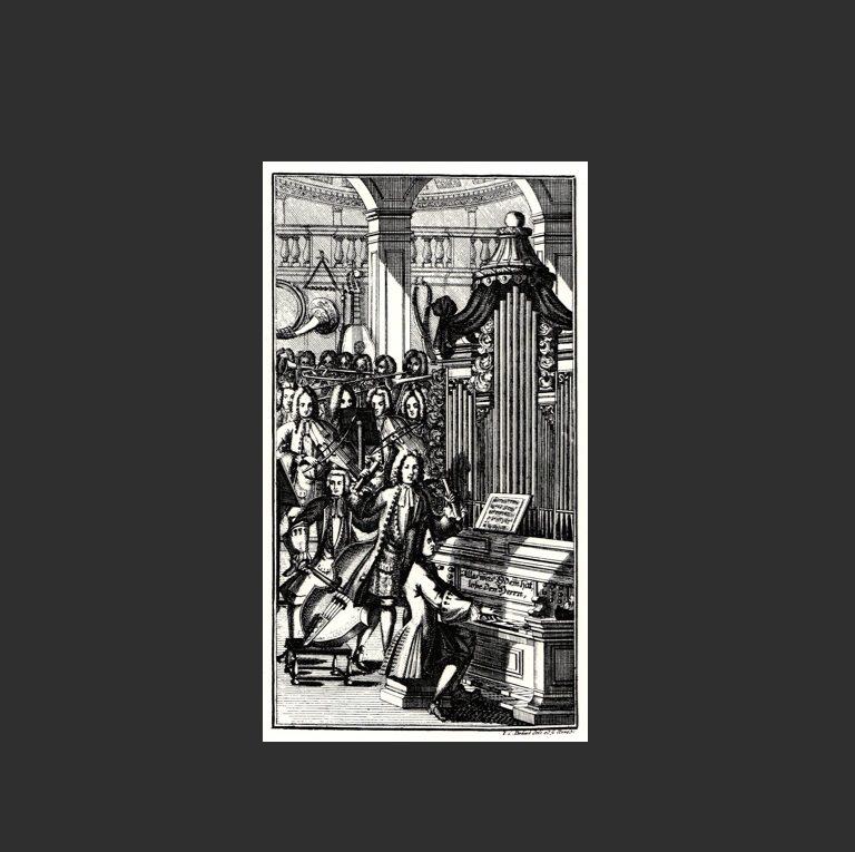 Исполнение кантаты И.С. Баха (1732)
