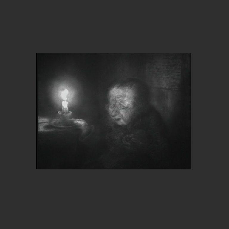 Кадр из мультипликационного фильма «Шинель»
