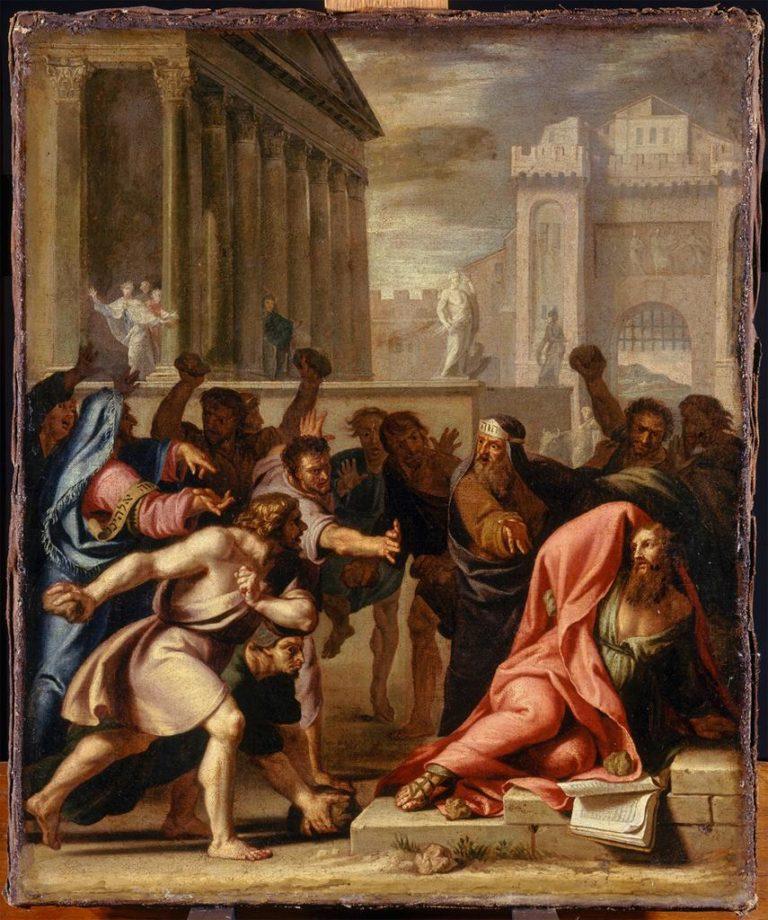 Каменование апостола Павла в Листре