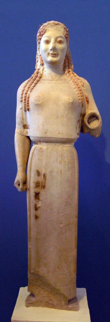 «Кора в пеплосе» (ок. 530 г. до н.э.)