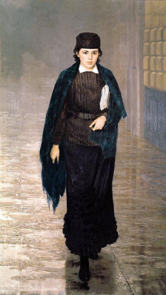 Курсистка. 1883