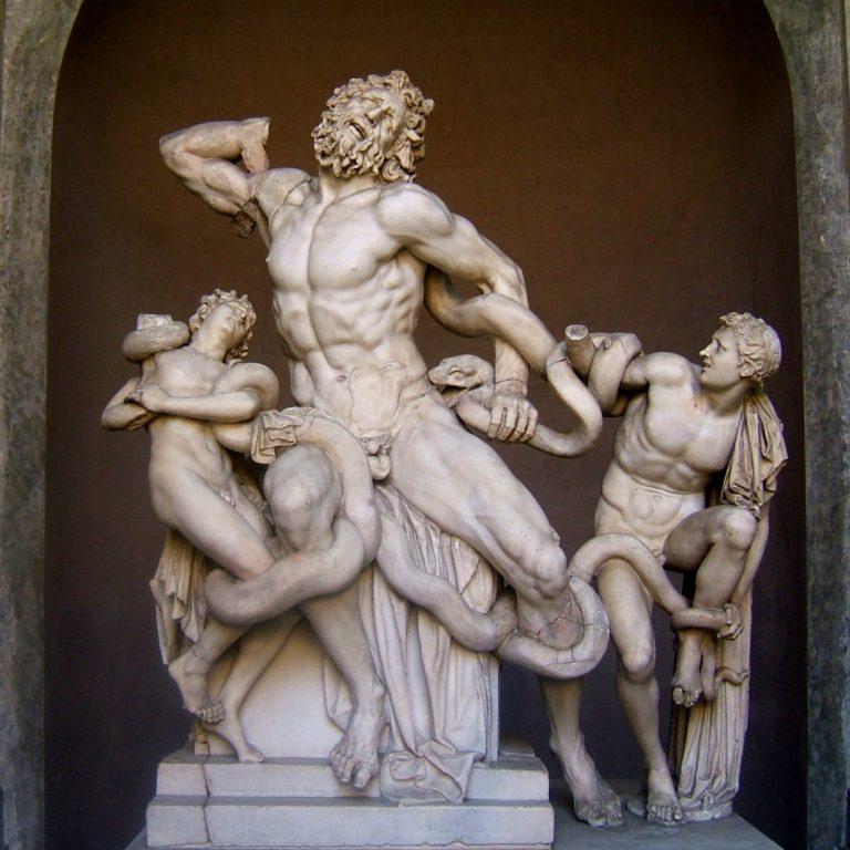 «Лаокоон и его сыновья» (50 г. до н. э.)