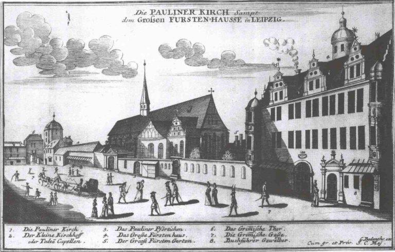 Лейпциг в 1700 году