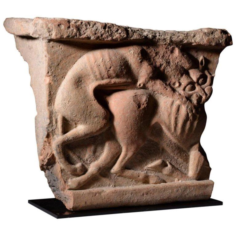 Лев убивает быка (ок. 500 до н.э.)