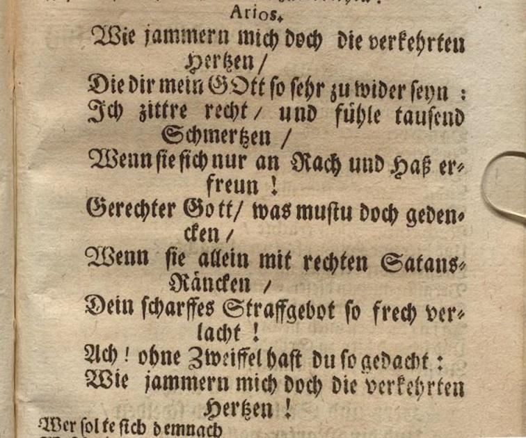 Лемс Г.Х. Либретто кантаты 170. Ария 3