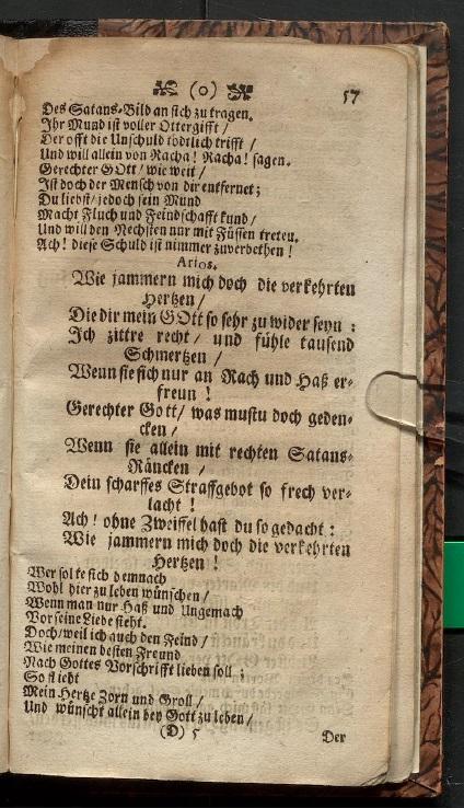 Либретто кантаты 170. Лемс Г.Х. Сборник кантатных либретто. 1711