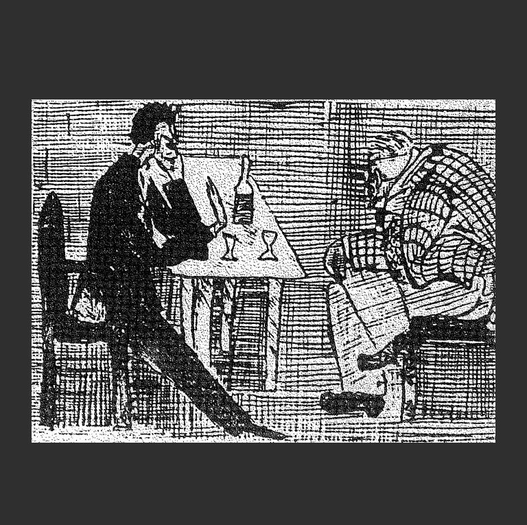 Липпанченко и чёрт. 1910-е