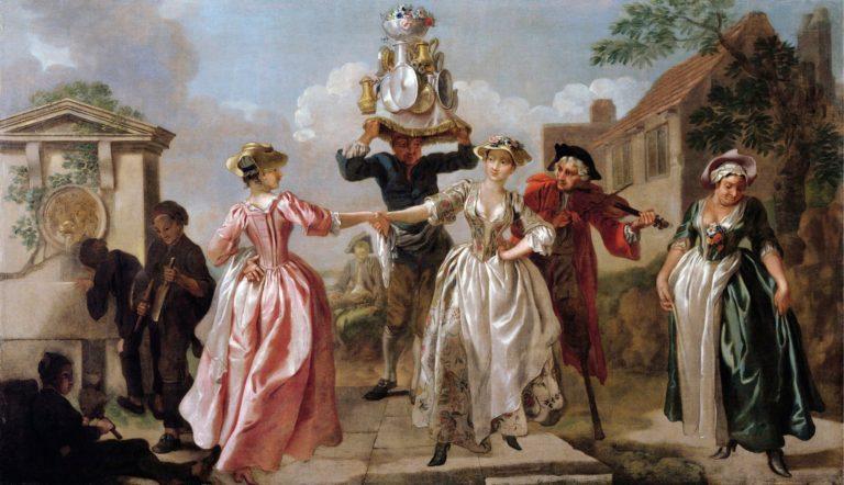 «Майский день» или «Гирлянда доярки» (1741-1742)