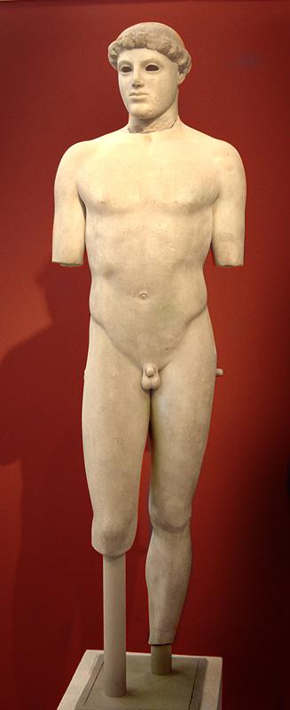 «Мальчик Крития» (ок. 480 г. до н.э.)