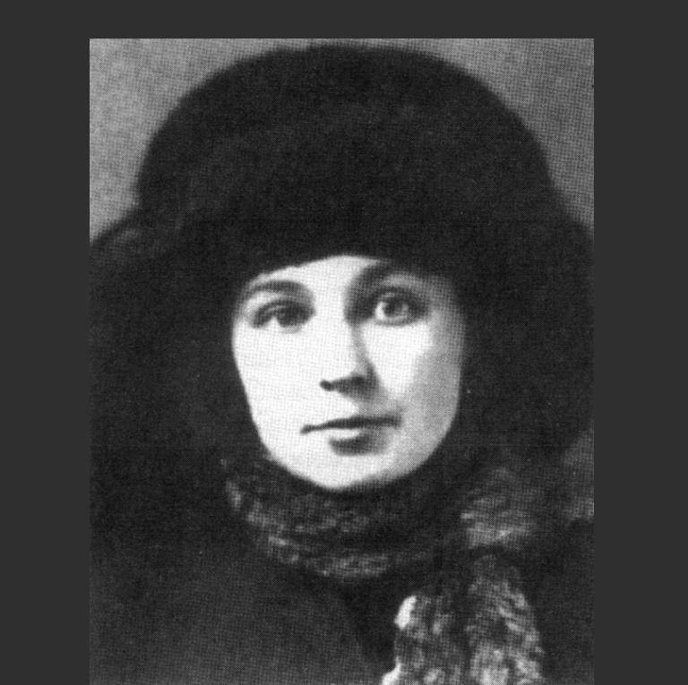 Марина Цветаева в 1917 году