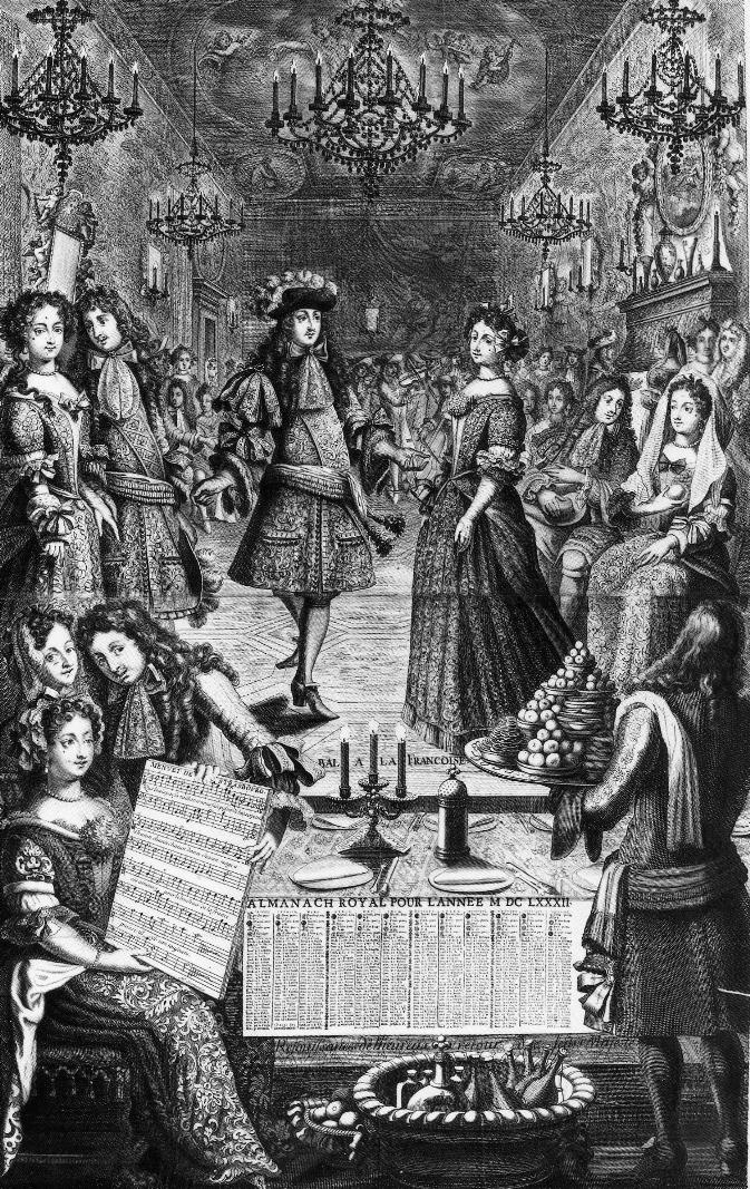 Менуэт при дворе короля Людовика XIV (1682)