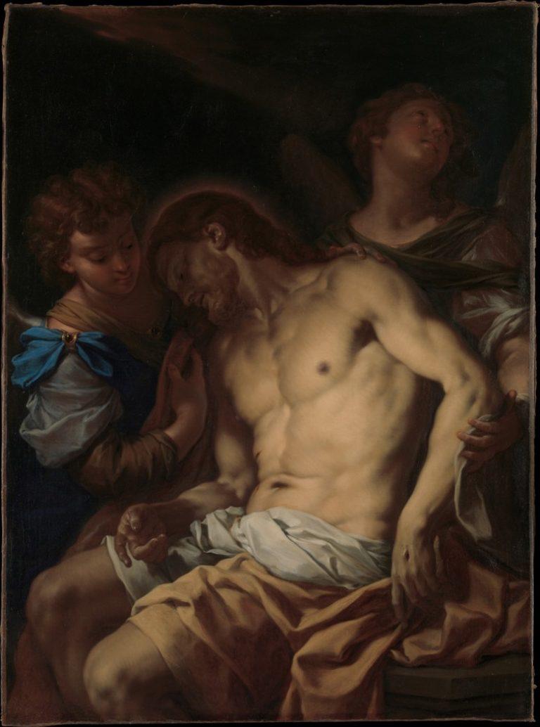 «Мертвый Христос, поддерживаемый ангелами» (ок. 1710)