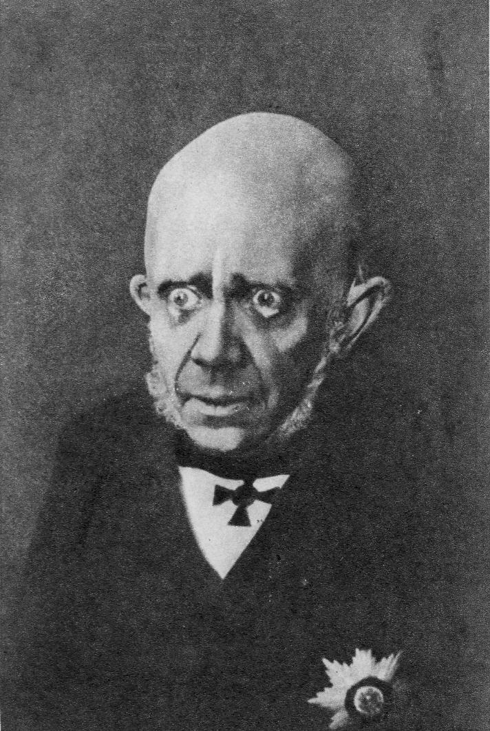 Михаил Александрович Чехов (1891-1955) в роли А.А. Аблеухова. 1920-е
