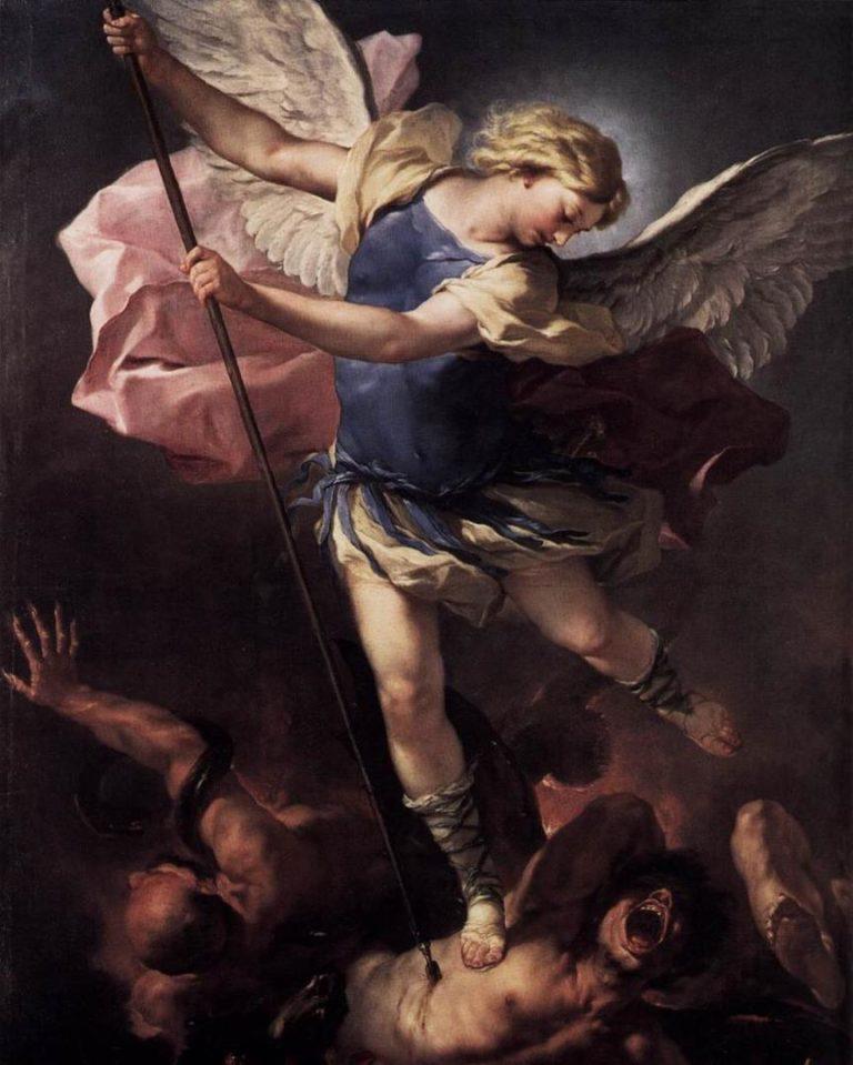 «Михаил-архангел, поражающий Сатану»