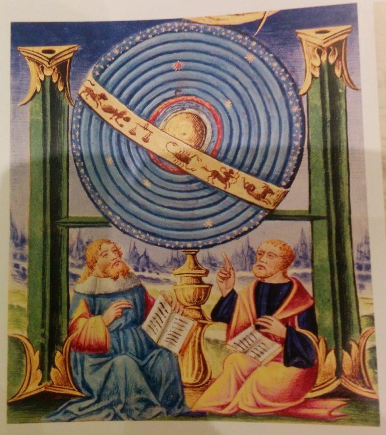 Миниатюра из сборника трактатов Аристотеля. XV в., Южная Италия