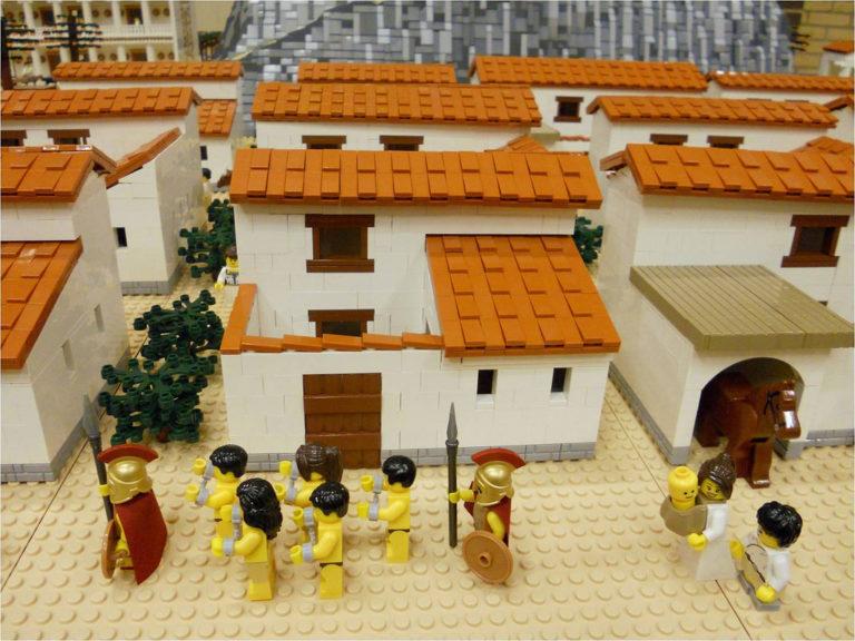 Модели древнегреческих домов, LEGO