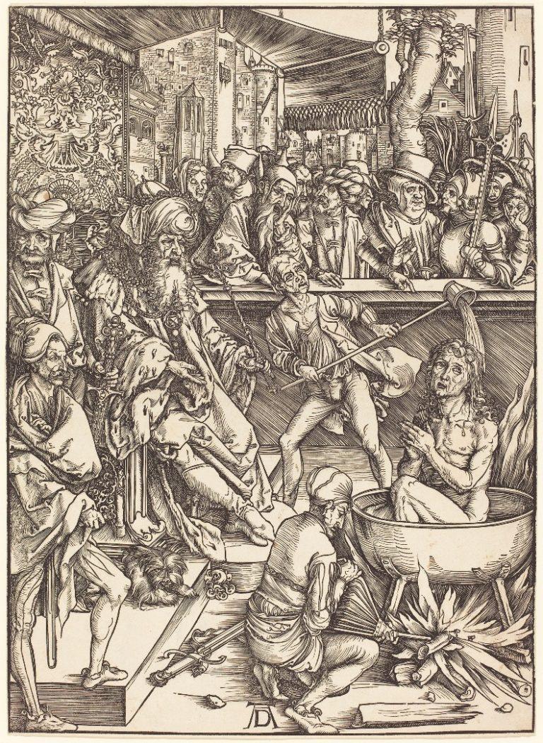 Мученичество апостола Иоанна Богослова