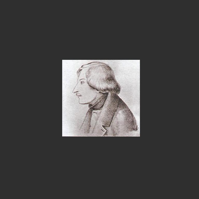 Н.В. Гоголь. Литография с рисунка Э.А. Дмитриева-Мамонова. 1852 год