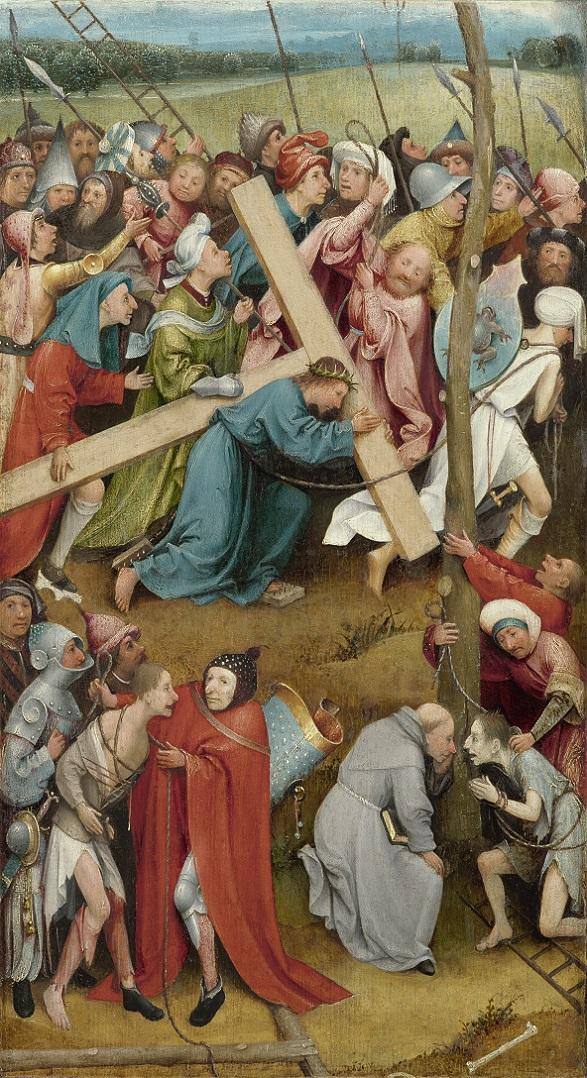 Несение креста. 1490—1500