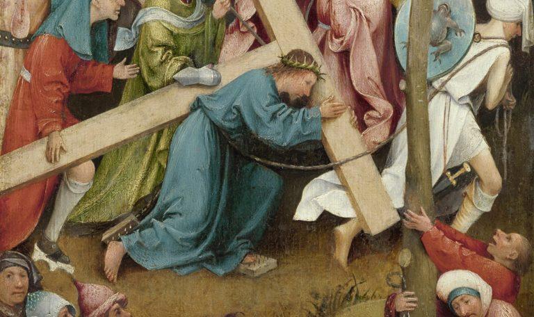 Несение креста. Деталь