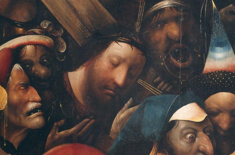 Несение креста. Деталь, центр