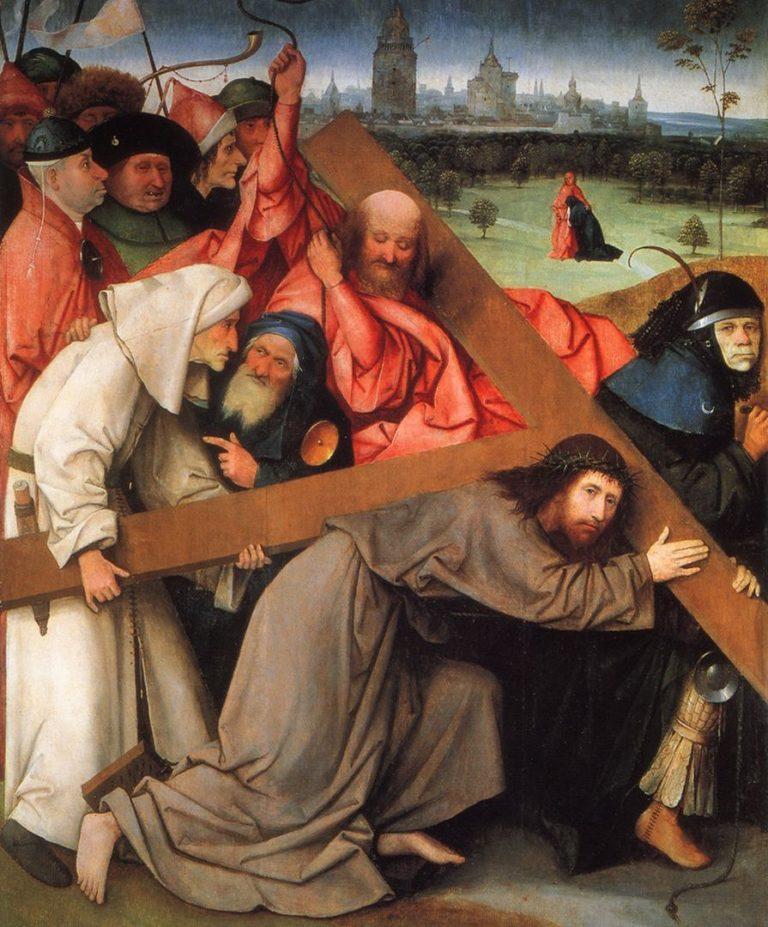 Несение креста. Деталь. Ок. 1505