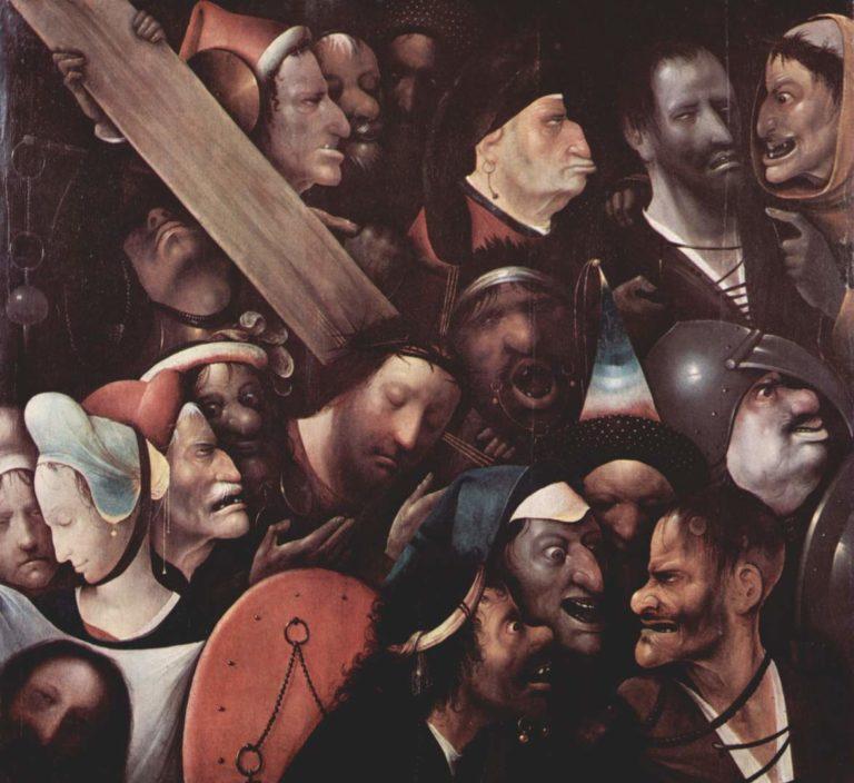 Несение креста. Между 1510 и 1516
