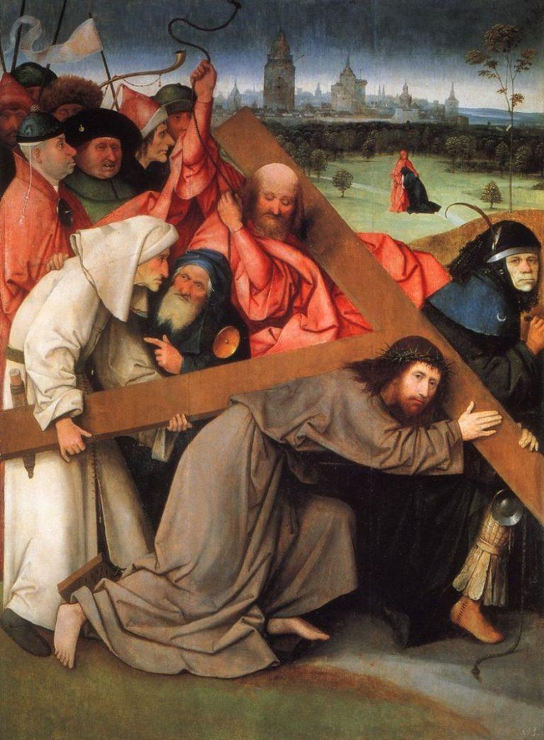 Несение креста. Ок. 1505