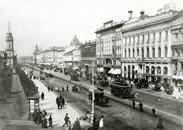 Невский проспект. 1903