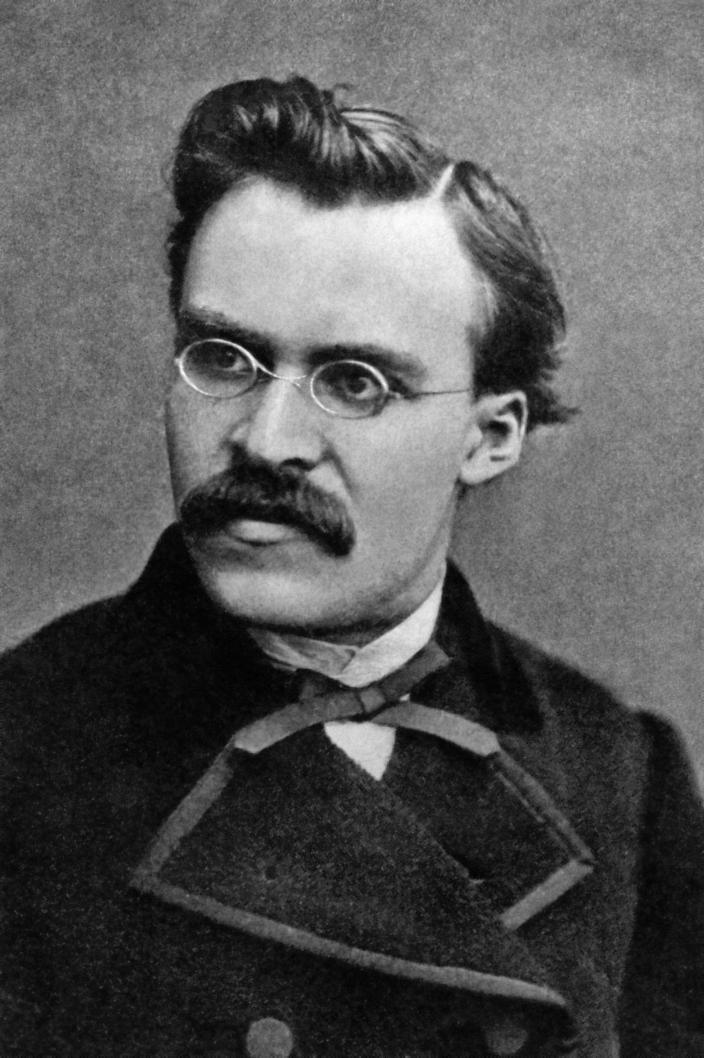 Фридрих Ницше в 1869 г.